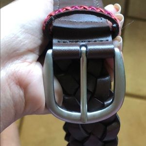 Aeropostale brown braided belt